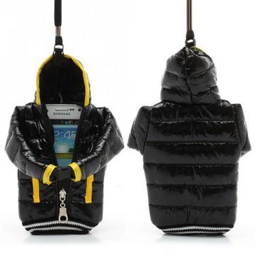 Univerzální pouzdro na mobil - Černá bunda