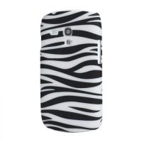 """Zadní kryt/Obal """"Zebra"""" 01 - Galaxy S3 Mini i8190"""