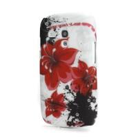 """Zadní kryt//Obal """"Květy"""" 01 - Galaxy S3 Mini i8190"""
