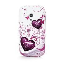 Pouzdro/Obal  - Srdce 01 - Galaxy S3 Mini i8190