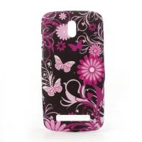 Kryt/Obal Motýli 01 - HTC Desire 500
