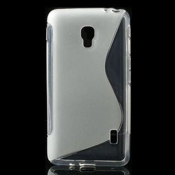 Pouzdro/Obal S Line - Průhledné - Optimus F6