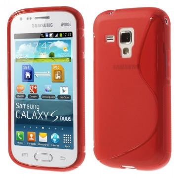 Pouzdro/Obal S Line - Červené - Galaxy Trend S7560/S Duos S7562/Trend Plus S7580