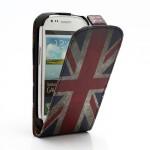 Pouzdro Flip - Union Jack Vintage - Galaxy S3 Mini i8190