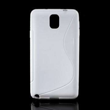 Pouzdro / Obal S-line - bílý - Galaxy Note 3 N9005