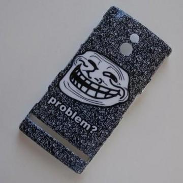 Zadní kryt/Obal Xperia P - Troll Face 3