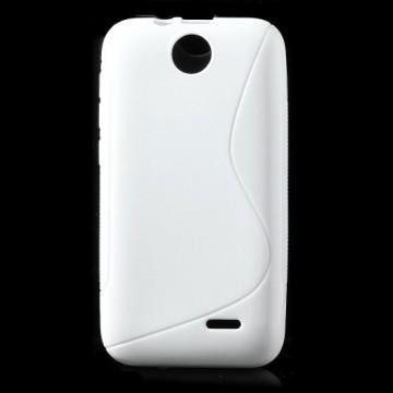Pouzdro/Obal S Line - HTC Desire 310 - Bílé
