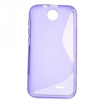Pouzdro/Obal S Line - HTC Desire 310 - Fialové