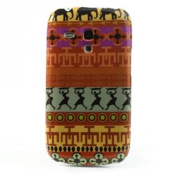 Zadní kryt/Obal - Abstraktní vzor 18 - Galaxy S3 Mini i8190