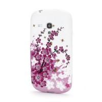 Pouzdro/Obal  - Květy 06 - Galaxy S3 Mini i8190