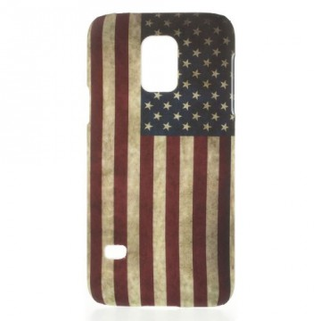 Zadní kryt / Obal Vlajka USA Vintage - Galaxy S5 Mini G800