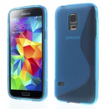 Pouzdro / Obal S Line - Modré - Galaxy S5 Mini G800
