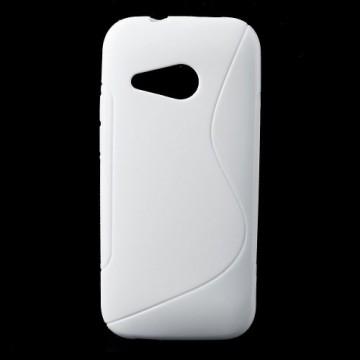 Pouzdro / Obal S Line, bílý - HTC One Mini 2
