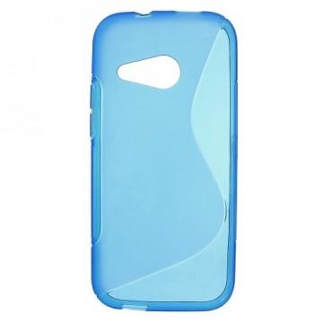 Pouzdro / Obal S Line, modrý - HTC One Mini 2