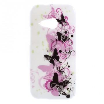 Pouzdro / Obal Motýli 02 - HTC One Mini 2