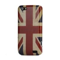 Zadní kryt/Obal HTC One V - Union Jack Vintage