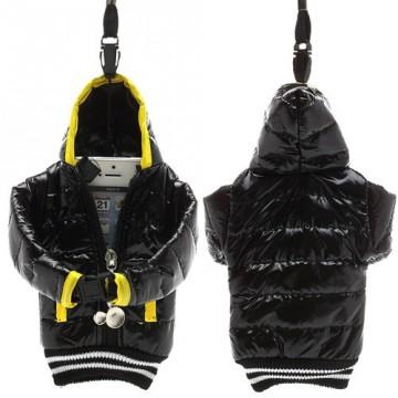 Univerzální pouzdro na mobil - Černá bunda (malá)