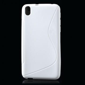 Pouzdro / Obal S-Line, bílý - HTC Desire 816