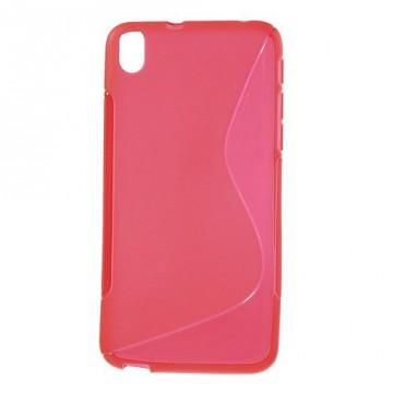 Pouzdro / Obal S-Line, červený - HTC Desire 816