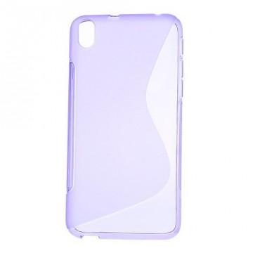 Pouzdro / Obal S-Line, fialový - HTC Desire 816
