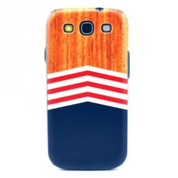 Zadní kryt / Obal Pruhy - Galaxy S3 i9300, i9301