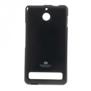 Obal Xperia E1 - Jelly Case - Černý lesklý třpytivý
