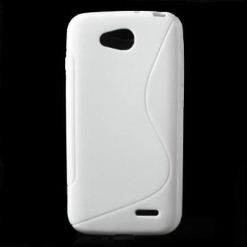 Pouzdro / Obal S-Line, bílý - LG L90