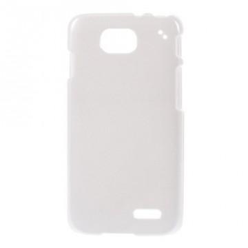 Dvoudílný saténový kryt LG L90 - bílý