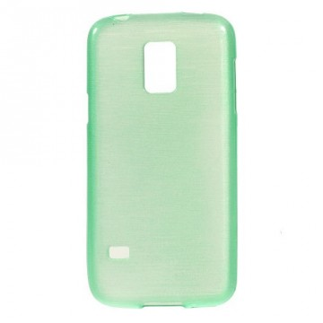 Pouzdro / Obal - Broušený vzor, zelený - Galaxy S5 Mini G800
