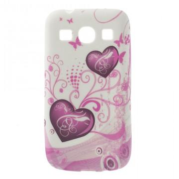 Pouzdro / Obal - Srdce 02 - Galaxy Core Plus