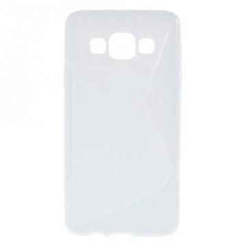 Pouzdro / Obal S-curve - Bílé - Galaxy A3