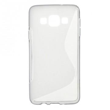 Pouzdro / Obal S-curve - Šedé - Galaxy A3