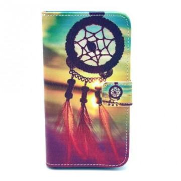 Koženkové pouzdro - Galaxy S5 i9600 - Lapač snů