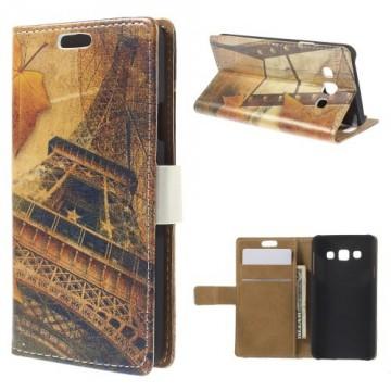 Koženkové pouzdro - Eiffelovka 02 - Galaxy A3