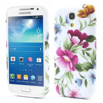 Pouzdro/Obal  - Květy 06 - Galaxy S4 Mini i9190
