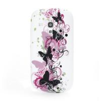 Pouzdro/Obal  - Motýli 06 - Galaxy S3 Mini i8190