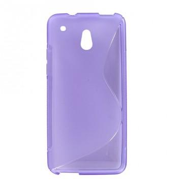 Pouzdro/Obal S Line - HTC One Mini - Fialové