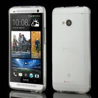 Pružné Pouzdro/Obal - Průhledné lesklé - HTC One
