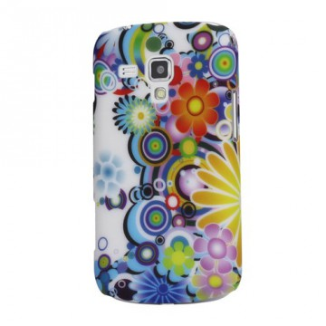 Zadní kryt//Obal Květy 04 - Galaxy Trend S7560/Galaxy S Duos S7562