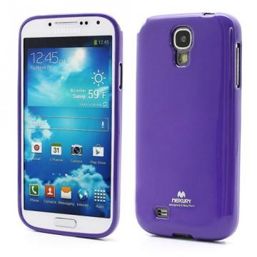Obal Jelly Case Galaxy S4 i9500, i9505 - Fialový lesklý třpytivý