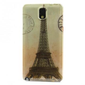 Zadní kryt/Obal Eiffelovka Vintage - Galaxy Note 3