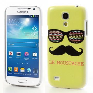 Zadní kryt/Obal Galaxy S4 Mini i9190 - Moustache