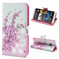 Koženkové pouzdro Květy 03 - HTC One
