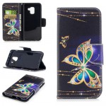 Pouzdro Galaxy A8 2018 - Motýli 03