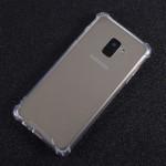 Pouzdro / Obal Galaxy A8 2018 - Průhledné