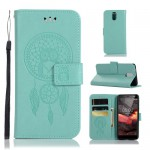 Pouzdro Nokia 3.1 - lapač snů - tyrkysové