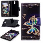 Pouzdro Nokia 3.1 -  Motýli 02
