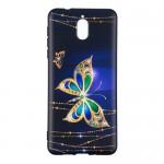 Obal Nokia 3.1 - Motýli 02