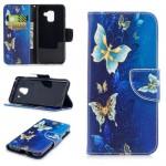 Pouzdro Galaxy A8 2018 - Motýli 04