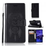 Pouzdro Huawei Mate 20 Lite - lapač snů - černý